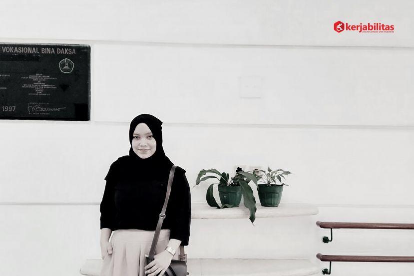 Friska Rosanti:Dulu Saya Bisa, Sekarang Saya Juga Bisa